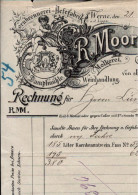 ! 1 Rechnungen 1902  Der Firma R. Moormann In Werne A.d. Lippe, Kornbrennerei, Weinhandlung - Alimentaire