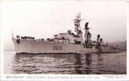 """Escorteur D'Escadre """"Dupetit-Thouars"""" 4 3 1964 - Carte-photo - Warships"""