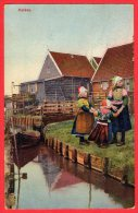 [DC6265] MARKEN (PAESI BASSI) - HOLLAND - OLANDA - Viaggiata - Old Postcard - Marken