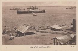 Aden    View Of The Harbor                         Scan 6842 - Yémen
