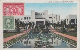 Hollywood    A Persian Garden, Southern California        Scan 6864 - Other