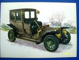 CARTOLINA MACCHINE D'EPOCA   PANHARD & LEVASSOR 1912 (ORIGINALE  RIPRODUZIONE  VIETATA) - Oldtimers