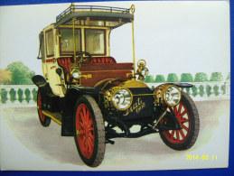 CARTOLINA MACCHINE D'EPOCA   FIAT  12/16  HP  1908 (ORIGINALE  RIPRODUZIONE  VIETATA) - Automobili D'Epoca