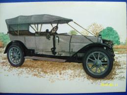 CARTOLINA MACCHINE D'EPOCA   ISOTTA FRASCHINI  B  28/35 C.V  1906 (ORIGINALE  RIPRODUZIONE  VIETATA) - Oldtimers
