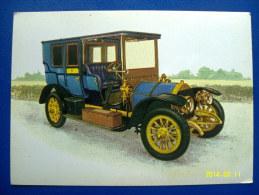 CARTOLINA MACCHINE D'EPOCA  LIMOUSINE  FIAT MOD. 24/32 C.V  1904 (ORIGINALE  RIPRODUZIONE  VIETATA) - Automobili D'Epoca