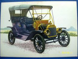 CARTOLINA MACCHINE D'EPOCA  FORD  MOD. T  (= LIZZIE =)  1908 (ORIGINALE  RIPRODUZIONE  VIETATA) - Automobili D'Epoca