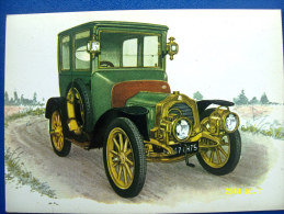 CARTOLINA MACCHINE D'EPOCA  DE DION & BOUTON - B/G  1907 (ORIGINALE  RIPRODUZIONE  VIETATA) - Oldtimers