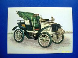 CARTOLINA MACCHINE D'EPOCA  FIAT  8  HP   1901 (ORIGINALE  RIPRODUZIONE  VIETATA) - Automobili D'Epoca