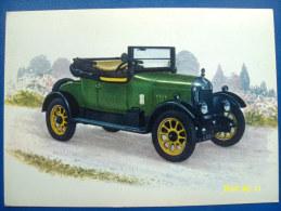 CARTOLINA MACCHINE D'EPOCA  MORRIS   1924 (ORIGINALE  RIPRODUZIONE  VIETATA) - Automobili D'Epoca