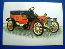 CARTOLINA MACCHINE D'EPOCA  BRIXIA - ZUST  10  HP   1908 (ORIGINALE  RIPRODUZIONE  VIETATA) - Oldtimers