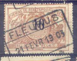 A825 -België  Spoorweg Chemin De Fer   Met Stempel FLEURUS - Chemins De Fer