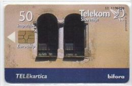 Telekom Slovenije 50 Impulzov - Gradovi Na SLO - Slovenia