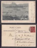 HONG KONG HARBOUR VIEWS OF KOWLOON CITY, , Used  VICTORIA, HK, 1906 - Cina (Hong Kong)
