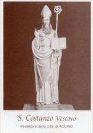 Santino SAN COSTANZO Vescovo (protettore Della Città Di Aquino) - OTTIMO G39 - Religion &  Esoterik