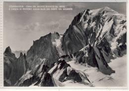 Courmayeur - Cima  Del  Monte  Bianco - 1958 - Italy