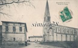FAUDOAS - ENTREE DU VILLAGE - France