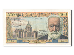 500 Francs Type Victor Hugo - 1871-1952 Circulated During XXth