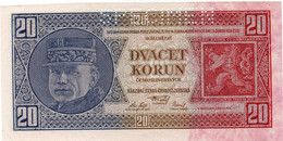 CZECHOSLOVAKIA 20 Korun 1926 Specimen Unc - Cecoslovacchia