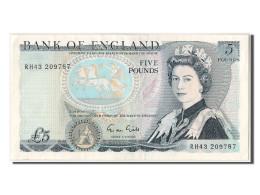 [#303015] Grande-Bretagne, 5 Livres Type Elizabeth II - …-1952: Vor Elizabeth II.