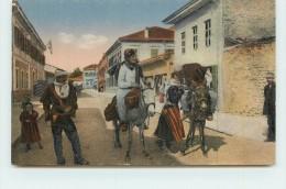 SKUTARI  - Une Rue, Begrussung Von Malissoren. - Albania