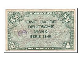 [#154548] Allemagne, 1/2 Deutsche Mark Type 1948 - [ 5] Ocupación De Los Aliados