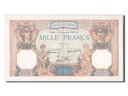1000 Francs Cérès Et Mercure Type 1927 Modifié - ...-1889 Tijdens De XIXde In Omloop