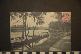 CP, 95, Pontoise L'Oise A L'Ile Saint Martin Edition ND 1905 - Pontoise