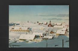 Postcard 1950/60years GREELAND GODTHAB Godthåb - Groenlandia