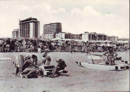 Lido Degli Estensi, Vita Di Spiaggia (bn) Anni  60 - Italia
