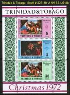 TRINIDAD & TOBAGO   Scott  # 228-30**  VF MINT NH  SHEET Of 3 - Trinidad & Tobago (1962-...)