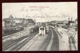 Cpa Du 54  Lunéville La Gare ,  Les Quais EE5 - Luneville