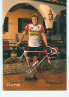 Twan POELS. 2 Scans. Equipe Kwantum 1986 - Ciclismo