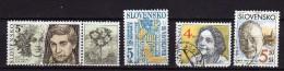 Slovaquie Y&t N°311.314.185.338..oblitérés  (106) - Oblitérés