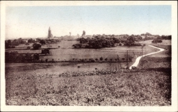 Cp Bethancourt En Vaux Aisne, Vue Principale, Straßenpartie Mit Ortschaft - Autres Communes