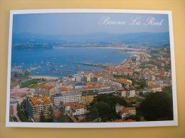 Postcard Postal Bayona La Real Pontevedra Vista Aérea - Pontevedra