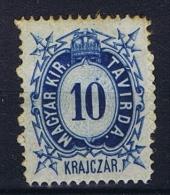 Hungary, Mi  Telegrapph Nr 2 MH/*, - Télégraphes