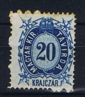 Hungary, Mi  Telegrapph Nr 3 MH/*, - Télégraphes