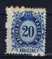 Hungary, Mi  Telegrapph Nr 3 MH/*, - Telegraaf