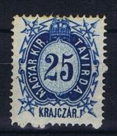 Hungary, Mi  Telegrapph Nr 4 MH/*, - Télégraphes