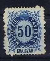 Hungary, Mi  Telegrapph Nr 6 MH/*, - Telegraaf