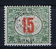 Romania - Transylvania, Mi  Porto 8 I MH/*, Occupation - Hungary - Transylvanie