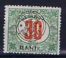Romania - Transylvania, Mi   Porto 10 I , Signed/signiert/ Approvato  MH/* Occupation - Hungary - Transsylvanië