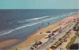 Aerial View, Beach Shore, MYRTLE BEACH, South Carolina, 40-60's - Myrtle Beach