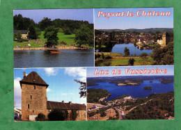 Peyrat-le-Château Lac De Vassivière Plage étang Bourg Tour Auphelle - Francia