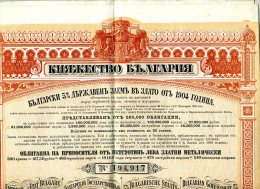 Emprunt De L´état Bulgare -  1904 - Russland