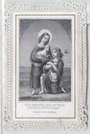 IMAGE PIEUSE A DENTELLE ANGE ANGELOT SERZ § C° NURNBERG RELIGION CANIVET SANTINI - Andachtsbilder