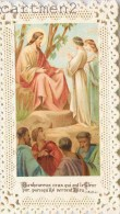 IMAGE PIEUSE A DENTELLE JESUS RELIGION CANIVET SANTINI CHOCOLAT GUERIN-BOUTRON - Santini