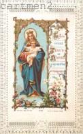 IMAGE PIEUSE A DENTELLE JESUS ET MARIE PAR BOUASSE CANIVET SANTINI RELIGION SANTINO - Santini