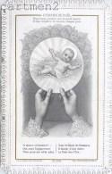 IMAGE PIEUSE A DENTELLES L'HOSTIE DE NOËL CH. LETAILLE SANTINI CANIVET RELIGION SANTINO - Images Religieuses
