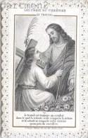 IMAGE PIEUSE A DENTELLES JESUS-CHRIST PAR L. TURGIS SANTINI CANIVET RELIGION SANTINO - Andachtsbilder